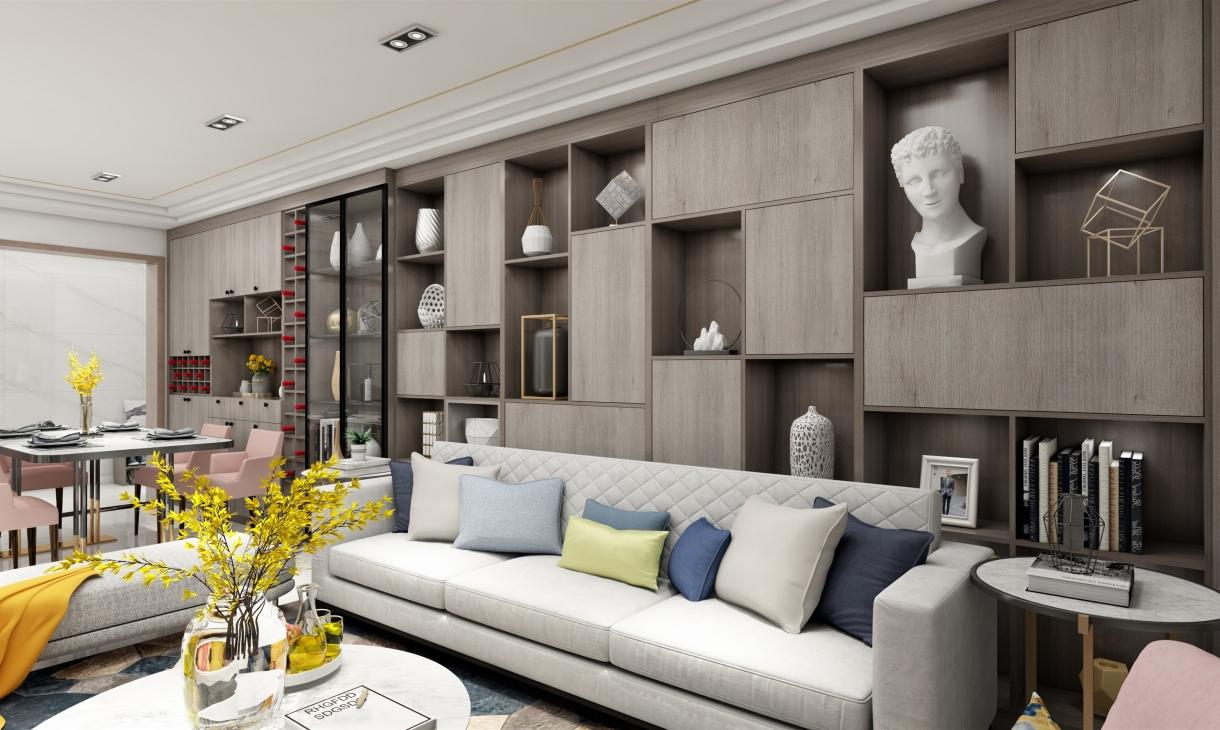 定制客厅—沙发2