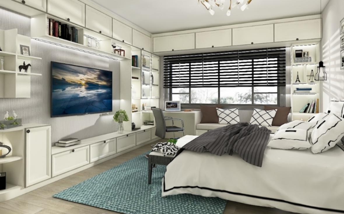 定制卧室—电视柜