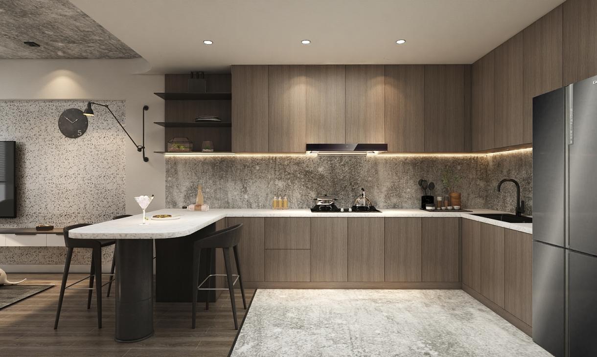 厨房-纯色
