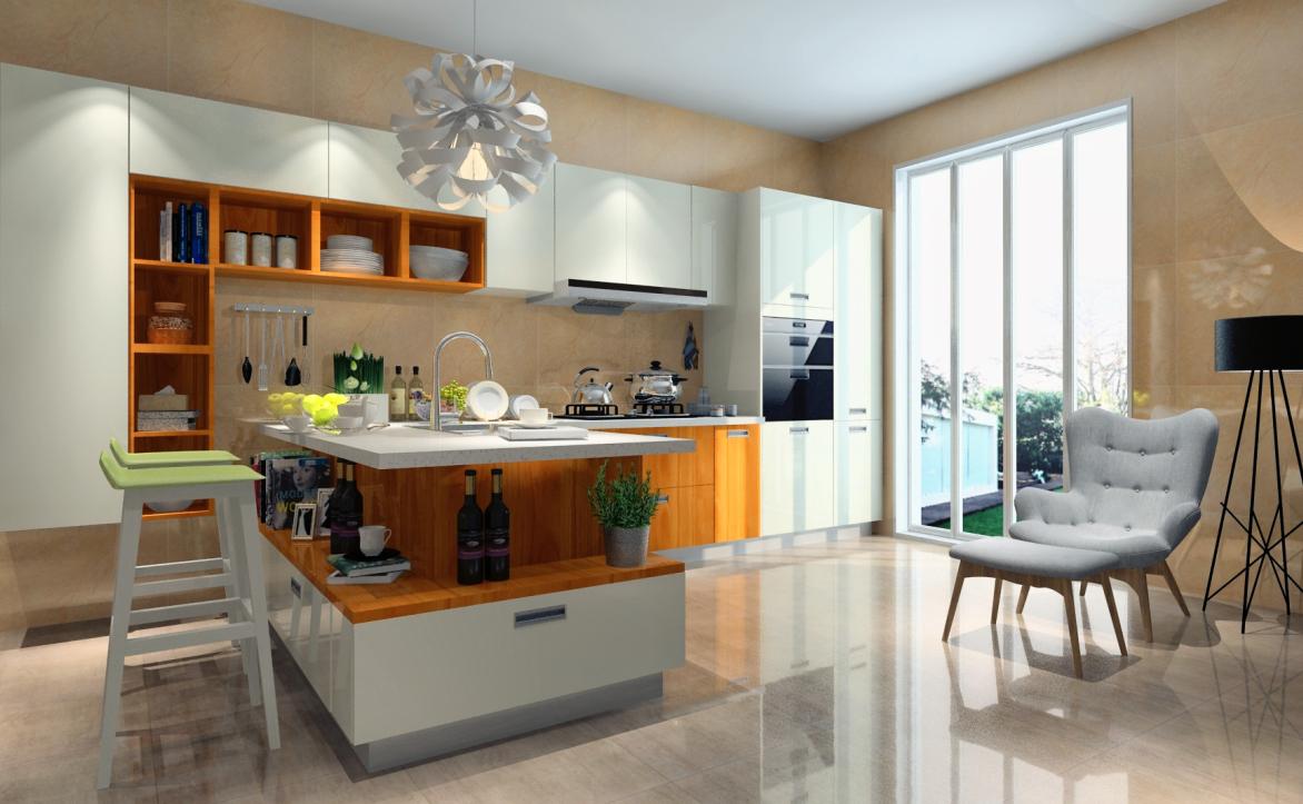 现代风格厨房-厨房03