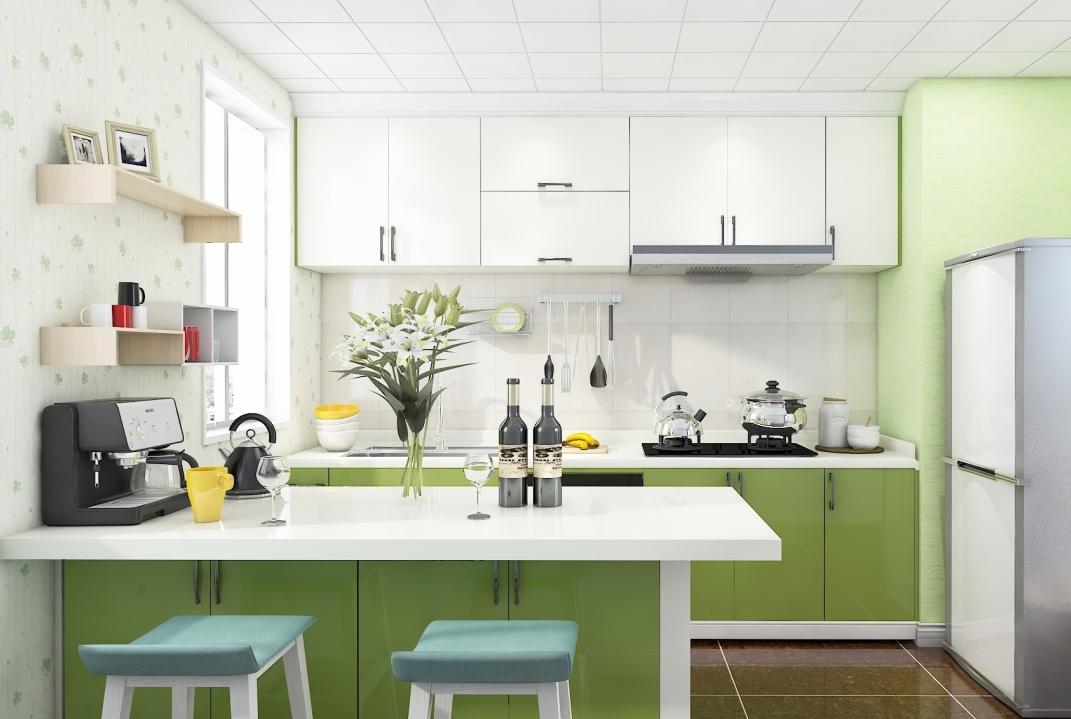现代风格厨房-厨房06
