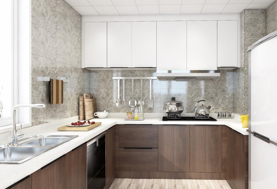 现代风格厨房-厨房8