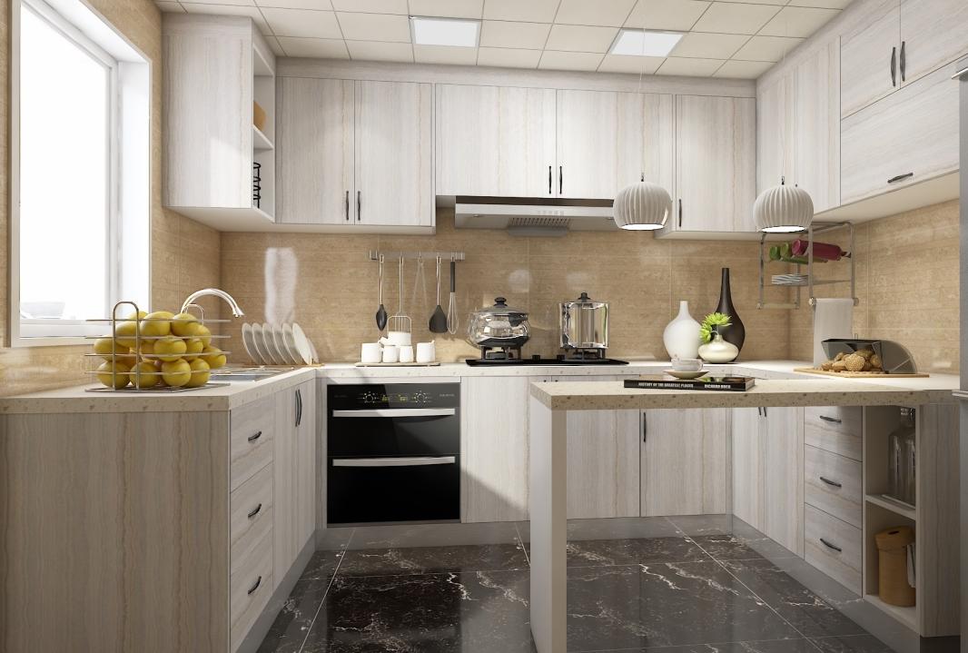 现代风格厨房-厨房9