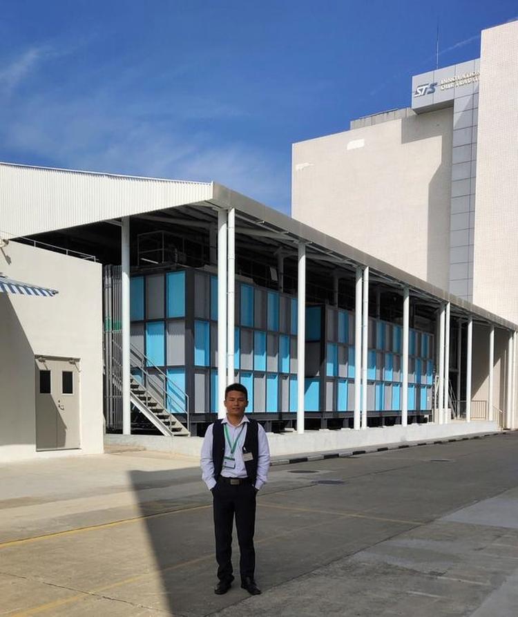 合瑞科技总经理张东STS公司厂区现场