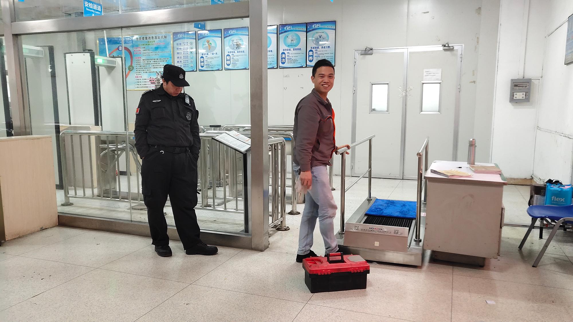 中国合瑞鞋底清洁机鞋底清洗机厂家-17