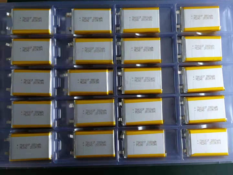 铂族聚合物锂电池