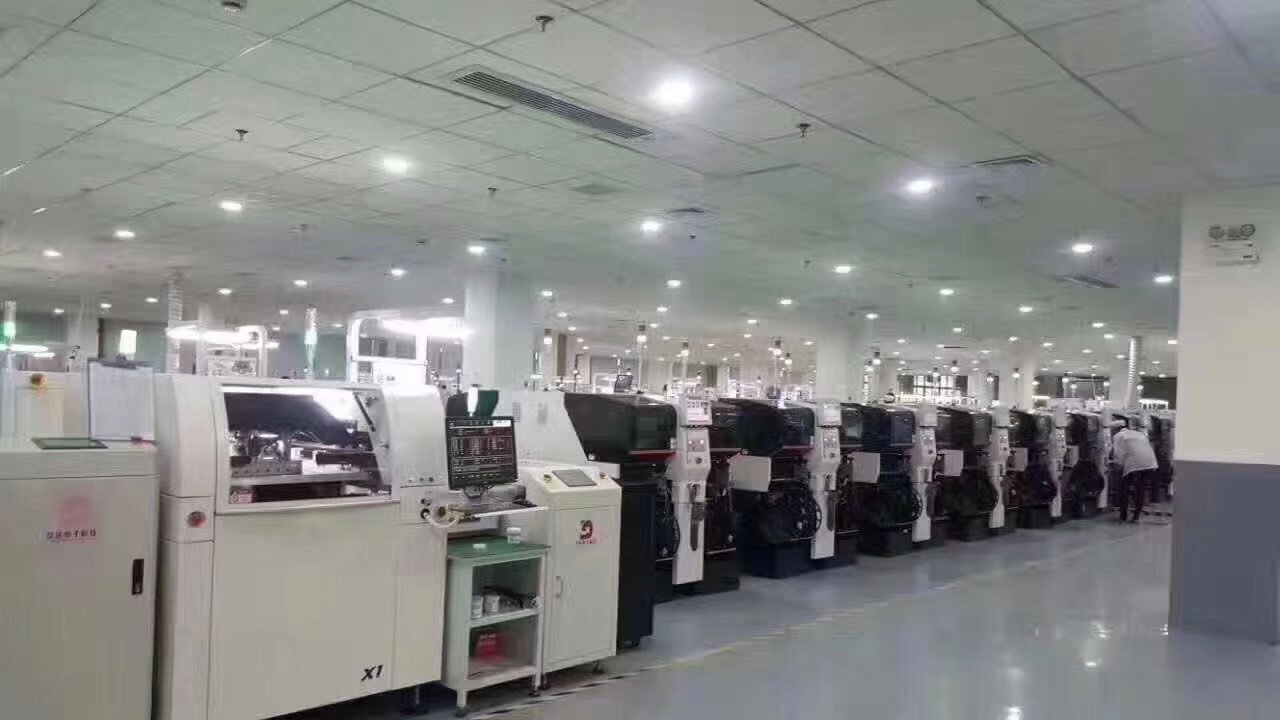 Huaxia Built China Largest LED Modules Manufacturing Space