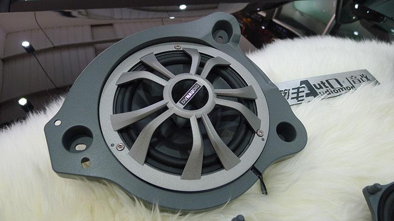 昆明奔驰汽车音响改装丹拿M17F