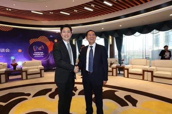 王波出席长江经济带?九江新产业新动能投资洽谈会
