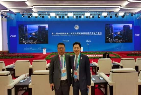 张曦、王波出席第二届中国国际进口博览会