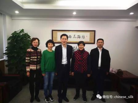 王波会见江苏华佳控股集团董事长王春花一行