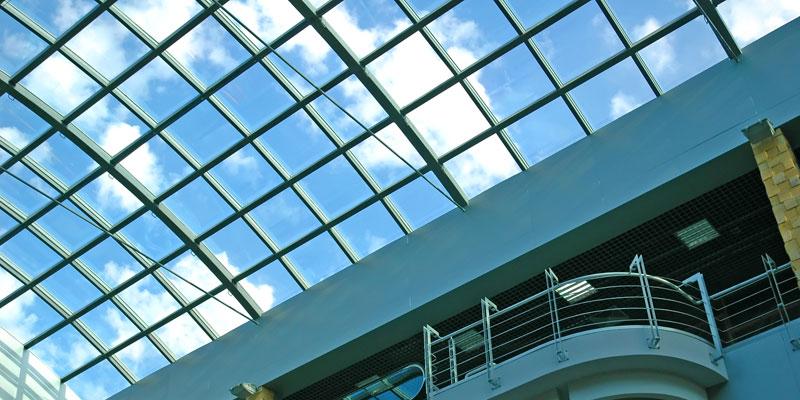 天頂玻璃、采光頂玻璃、穹頂玻璃、頂棚玻璃隔熱、降溫、節能方法