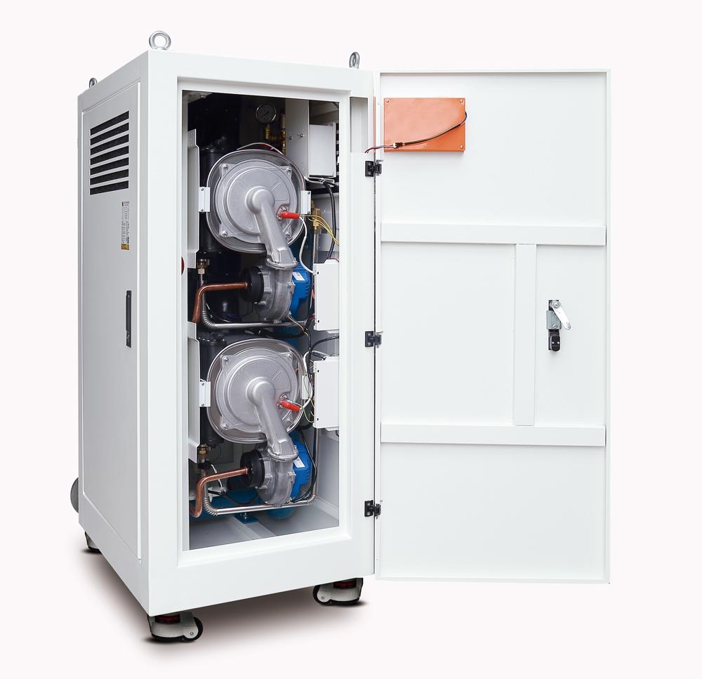 全预混低氮冷凝模块炉正面图