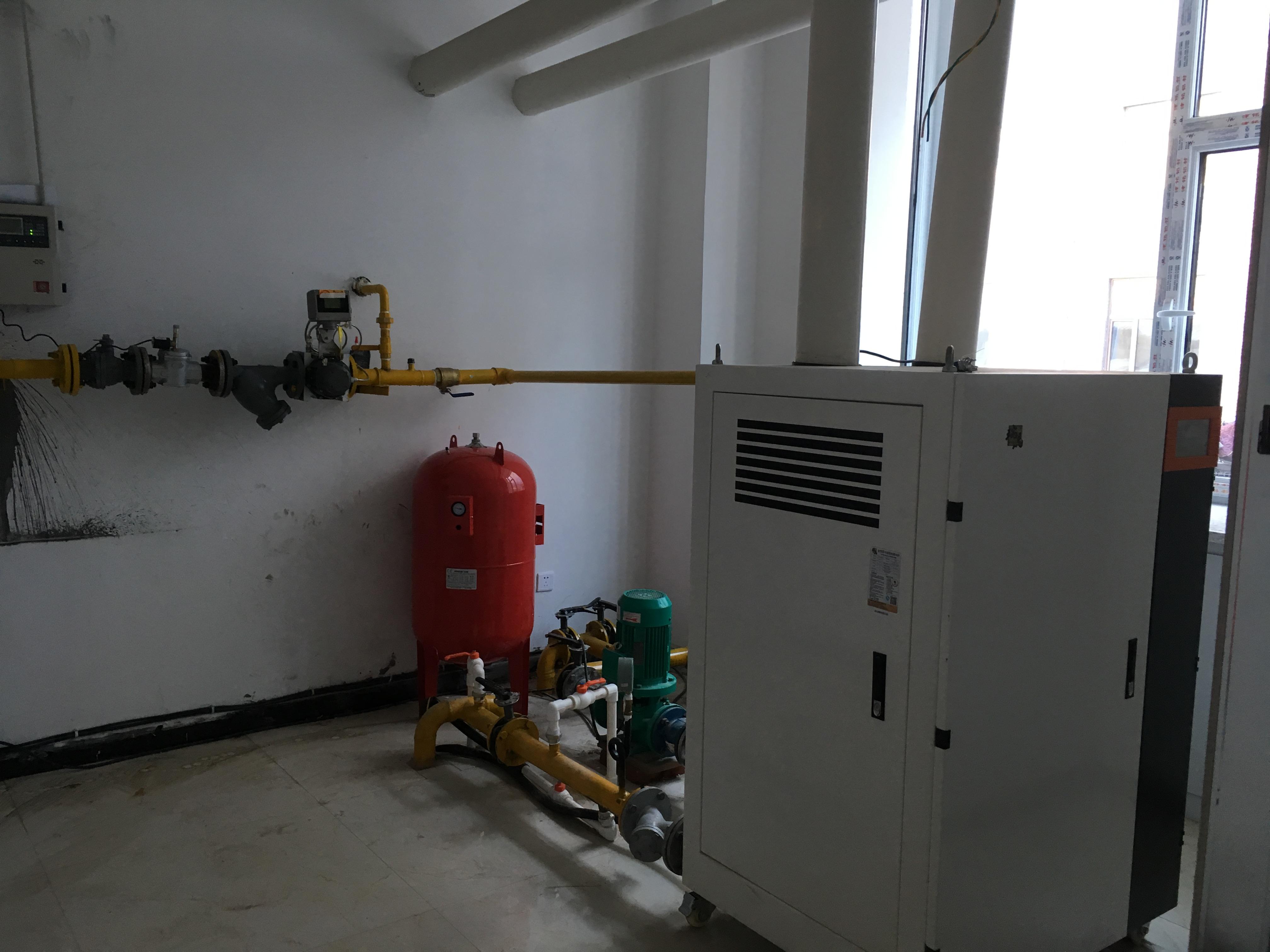 吉林大安市中兴医院热水工程
