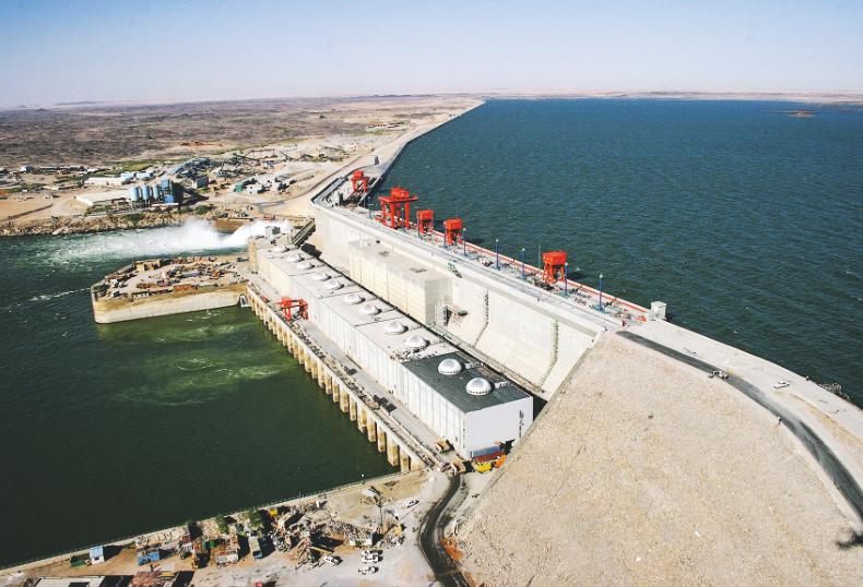 苏丹麦洛维大坝