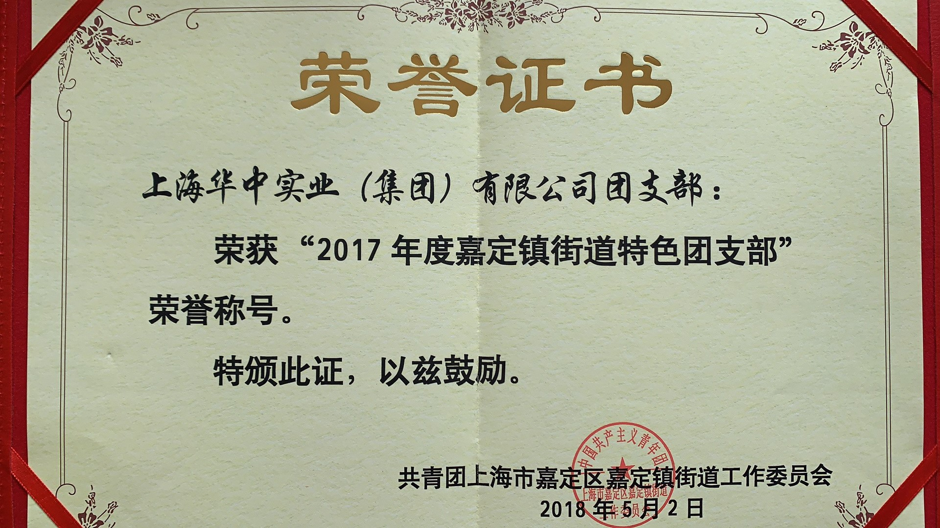 2017特色团支部