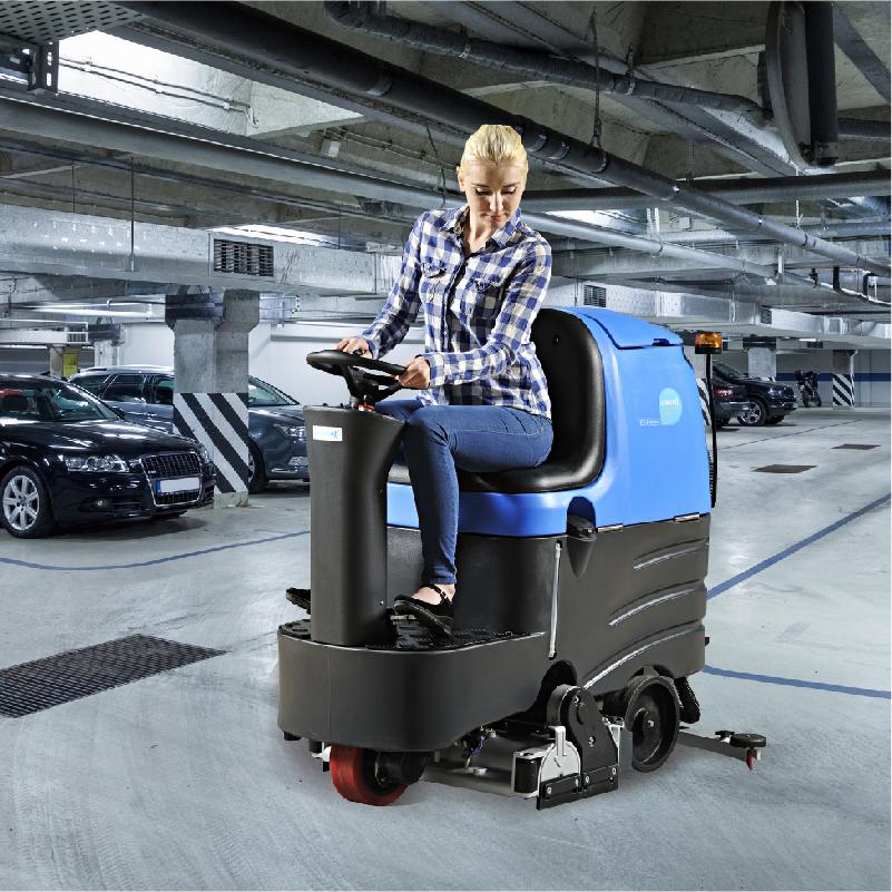 驾驶式洗扫一体机R-QQR