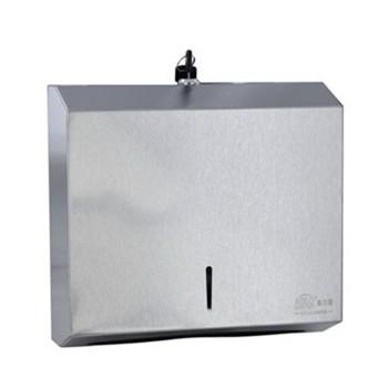 不锈钢擦手纸盒
