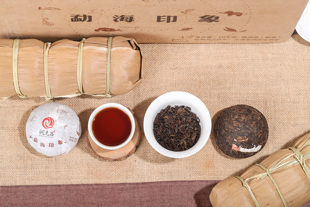 """普洱茶发酵过程图解"""""""