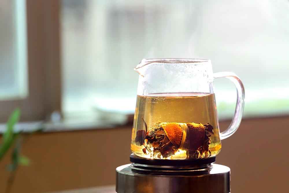 三宝茶茶汤图