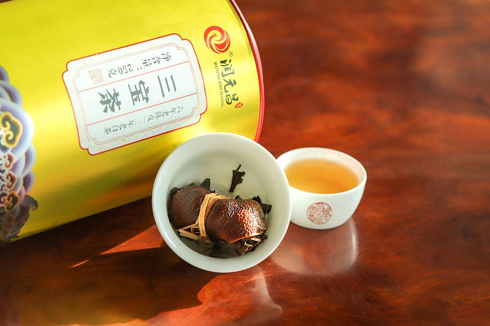 三宝茶好喝吗
