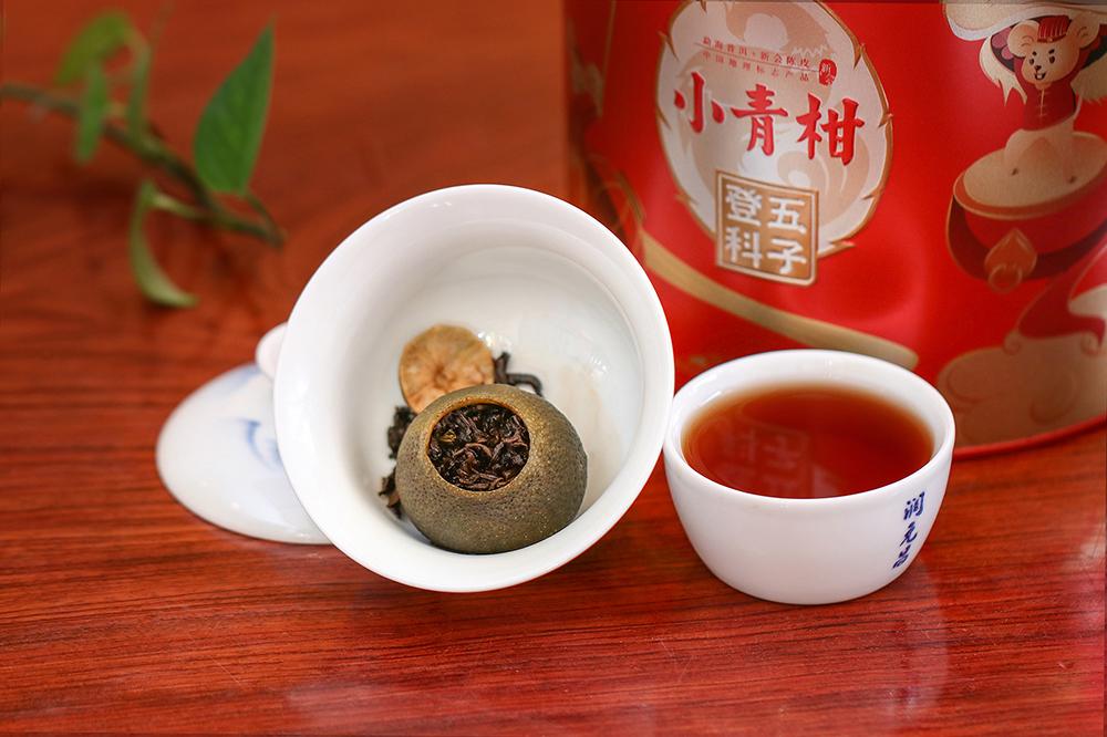 柑普茶泡法