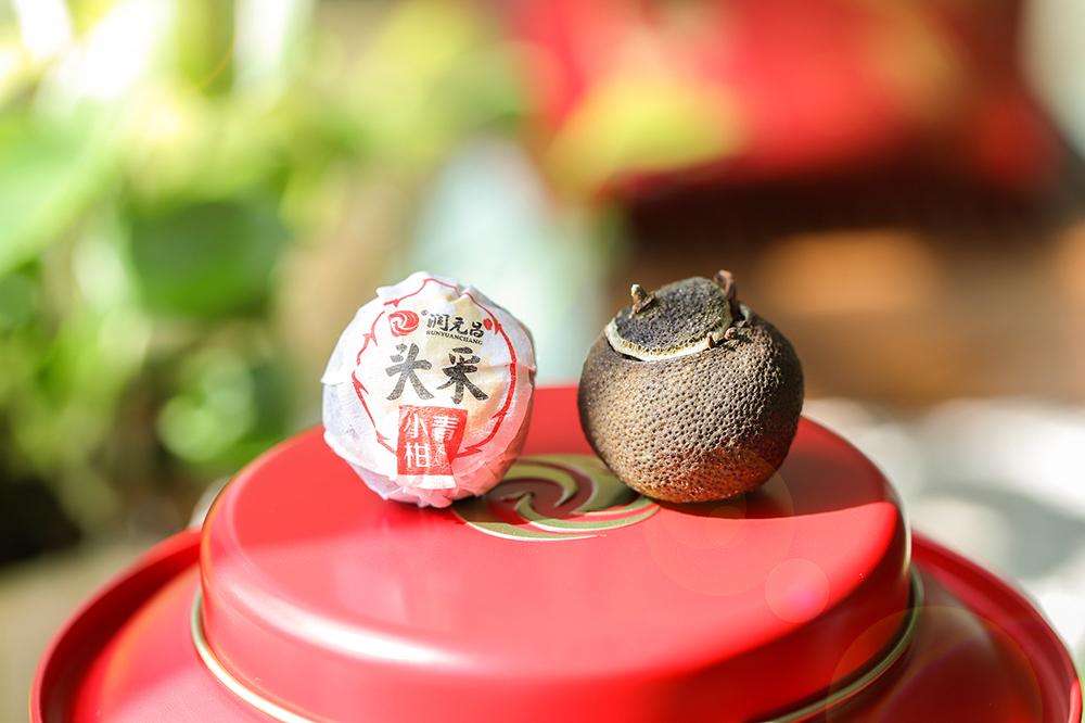 小青柑里面是什么茶