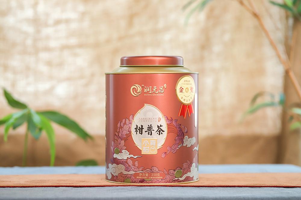 润元昌小青柑普洱茶