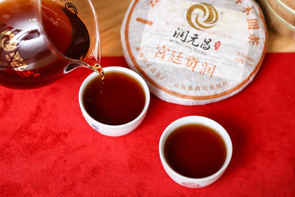 润元昌宫廷贡润熟茶-IMG_0166