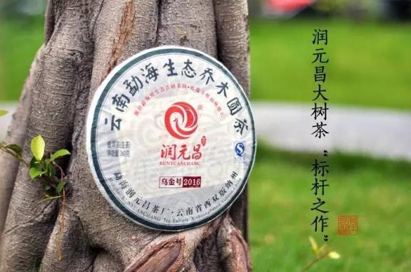 润元昌2012-2013-2016年乌金号青饼普洱生茶金字系列