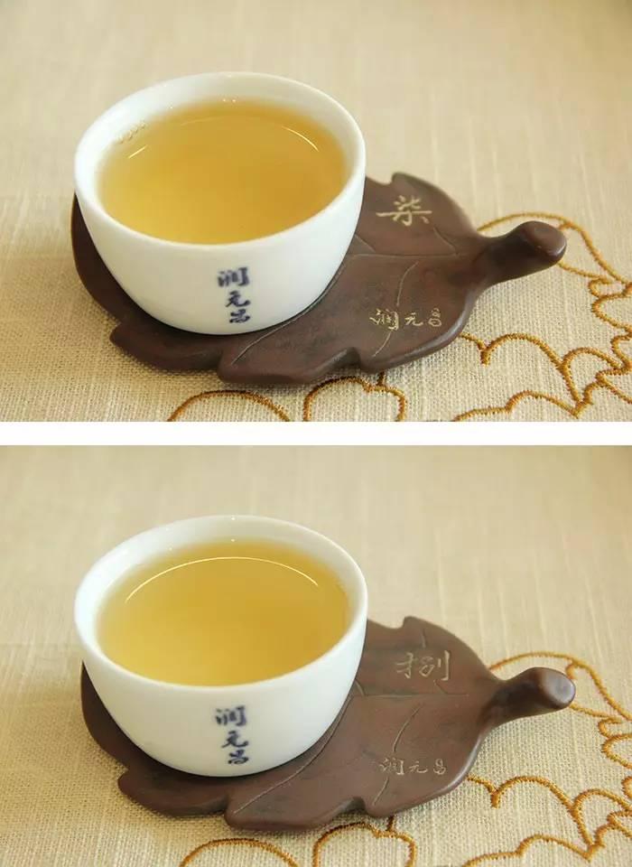 2润元昌普洱茶布朗金藏开汤