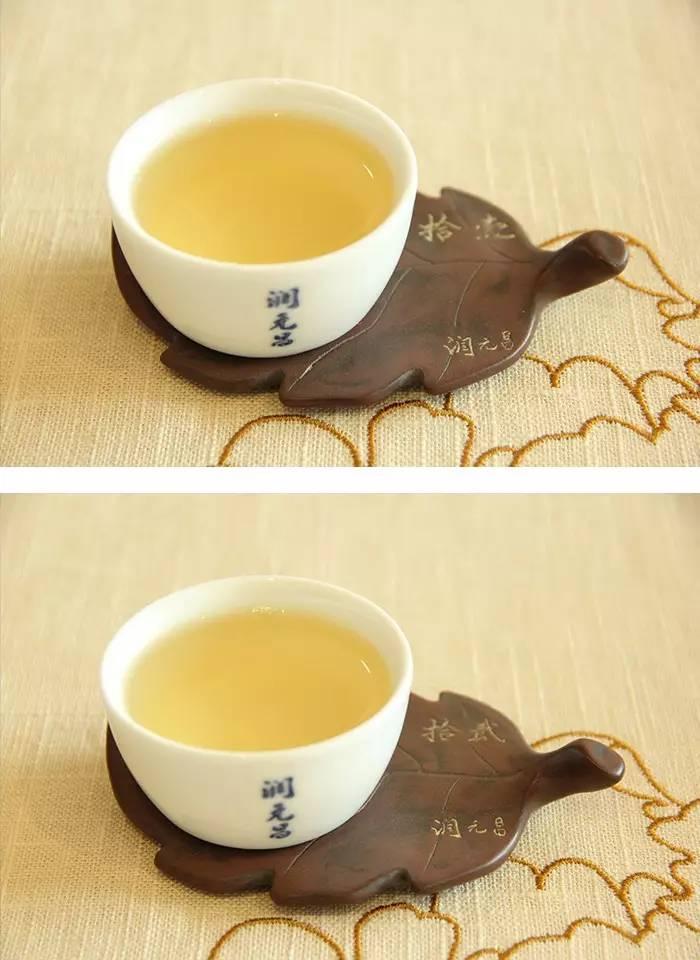 5润元昌普洱茶布朗金藏开汤