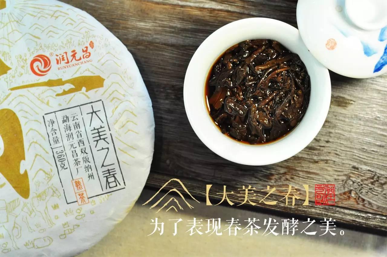 润元昌普洱茶大美之春-2