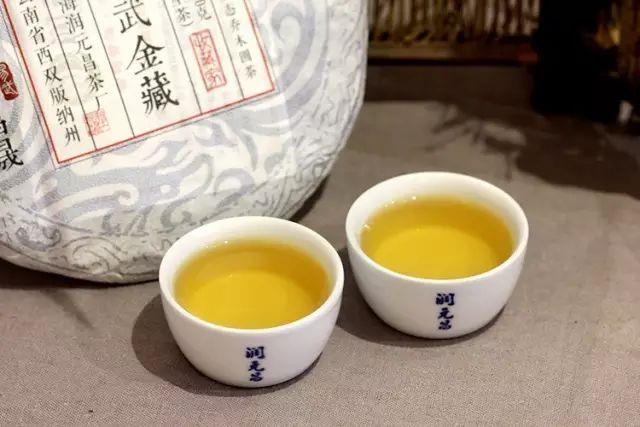 润元昌2016年易武金藏青饼普洱生茶收藏家系列