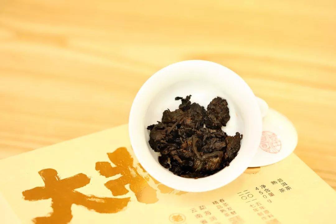 润元昌2017年大将军老茶头普洱熟茶