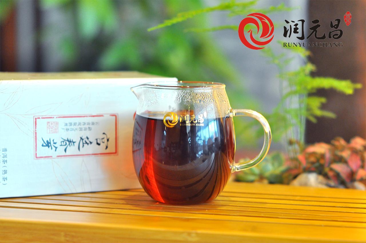 润元昌2015年宫廷春芽普洱熟茶4