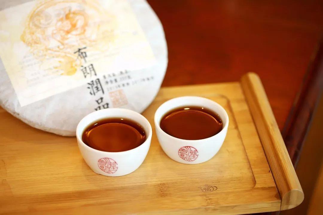 润元昌2017年布朗润品普洱熟茶特殊品种熟系列