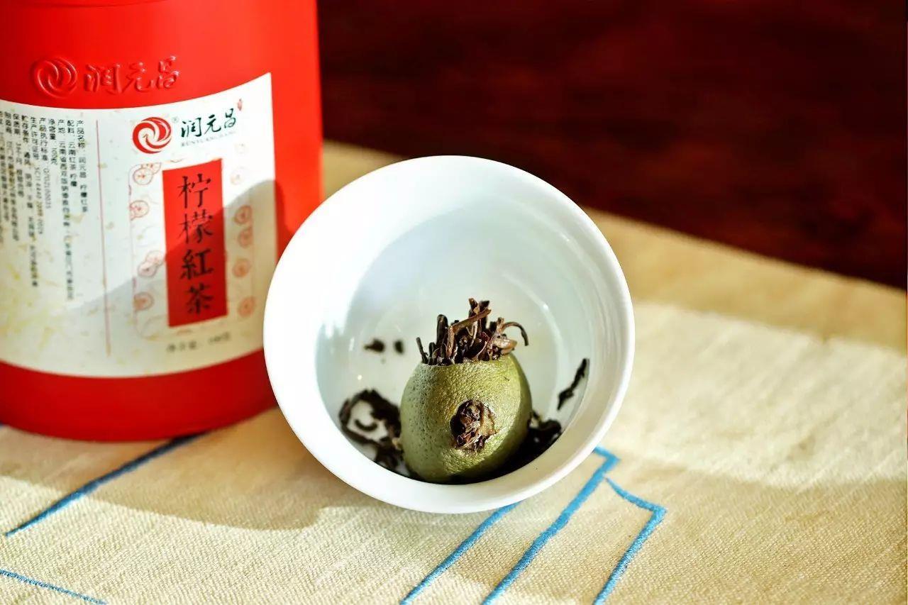 润元昌2017年柠檬红茶