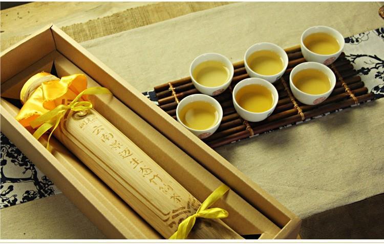 什么是竹筒茶