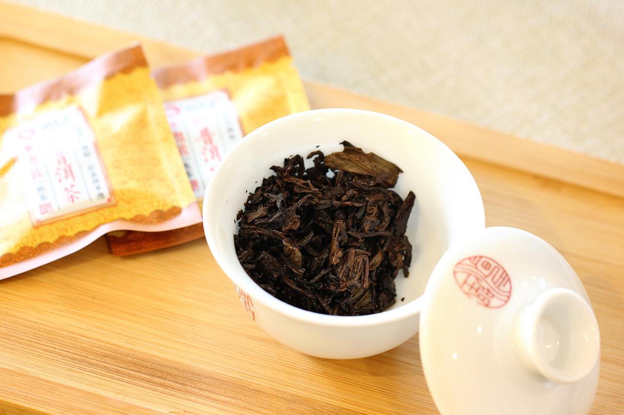 普洱熟茶发酵图片