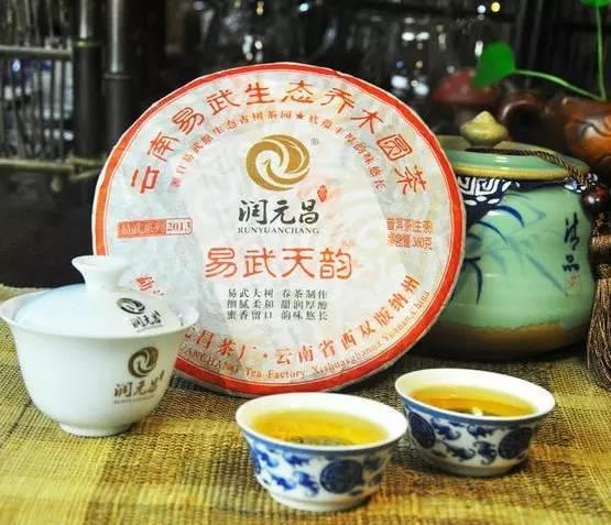 2012年润元昌易武系列普洱茶