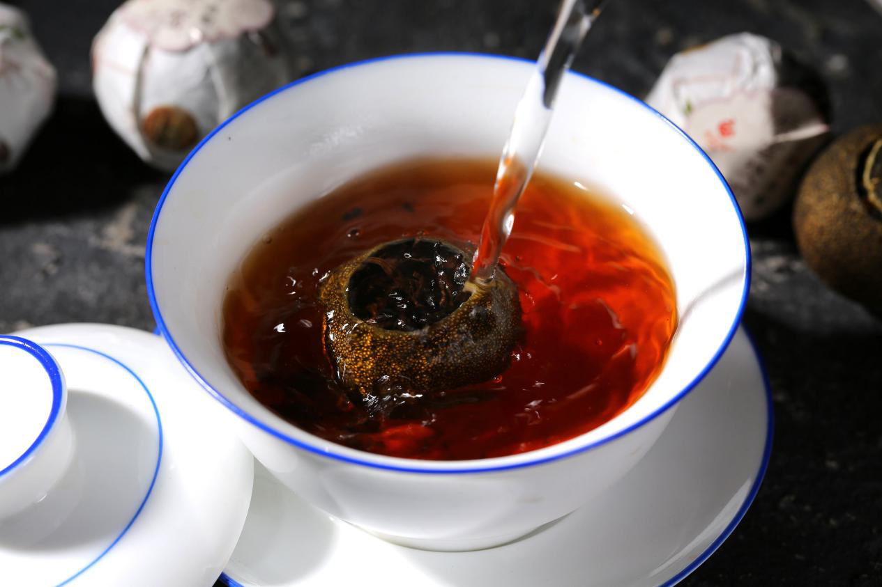 喝小青柑普洱茶有哪些好处