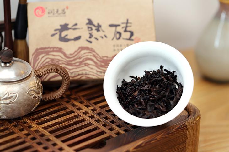 润元昌老熟砖茶汤图片