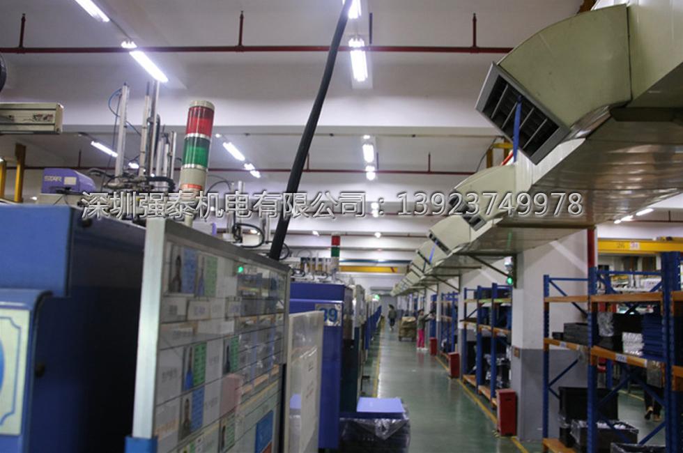 西门子工厂注塑车间通风降温工程安装效果图-02