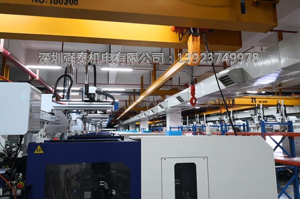 西门子工厂注塑车间通风降温工程安装效果图-03