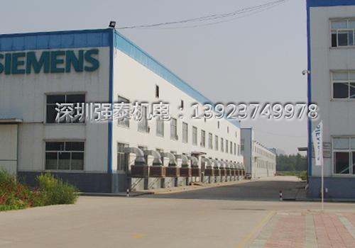 西门子工厂注塑车间通风降温工程安装效果图-01