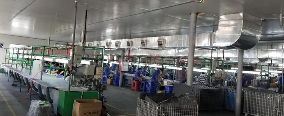 东莞浔兴拉链厂环保空调降温工程案例-02
