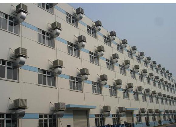 厂房降温工程设计方案预览副本