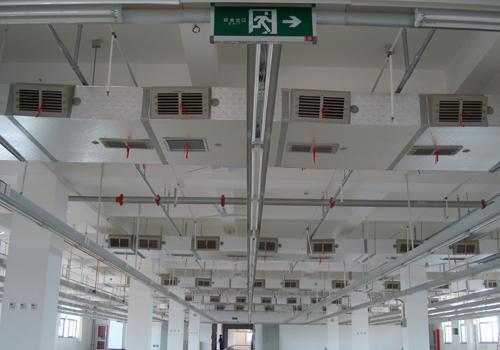 工厂车间通风降温解决方案设计