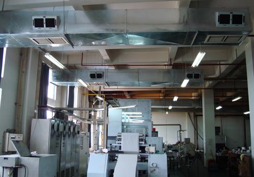 印刷厂通风降温方案设计图纸